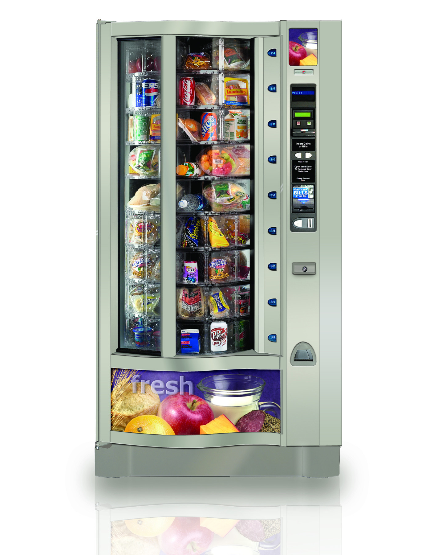 crane vending machine manuals