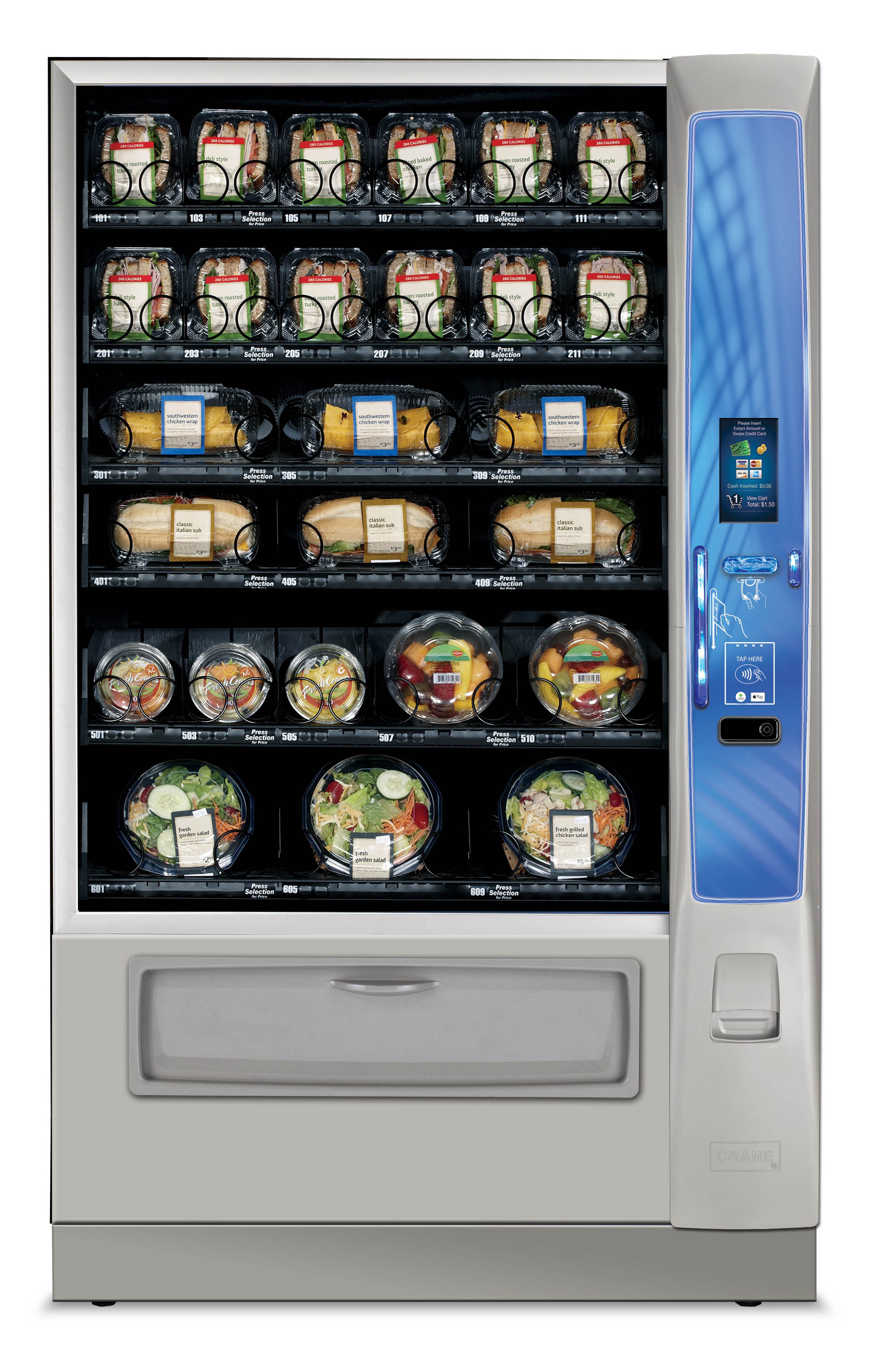 Snack And Combo Vending Machines Auto Vending