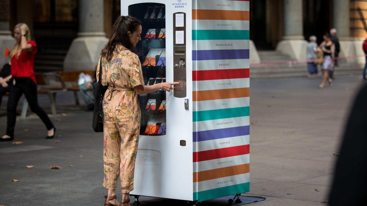 Custom Vending Machine: Intangible Goods
